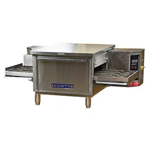 "ZESTO CE2416 CONVEYOR PIZZA / BAKE OVEN ELECTRIC 48""L X 31.5""D"