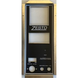 CONVEYOR CONTROL PANEL WITH ZESTO DECAL